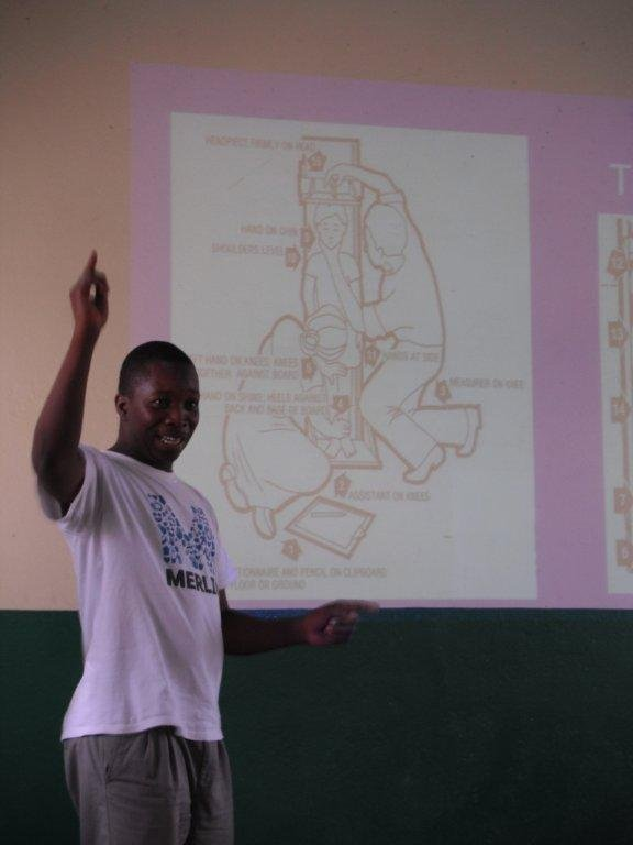 Courtesy of Merlin, training nutritionists