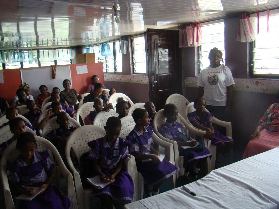 CAGeM staff provides health education against FGM