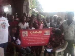 Safehouse Matron with CAGeM staff