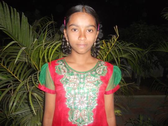 rinkusha one of elder girl at hyderabad care home