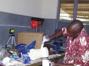 Prosthetic limbs are custom made