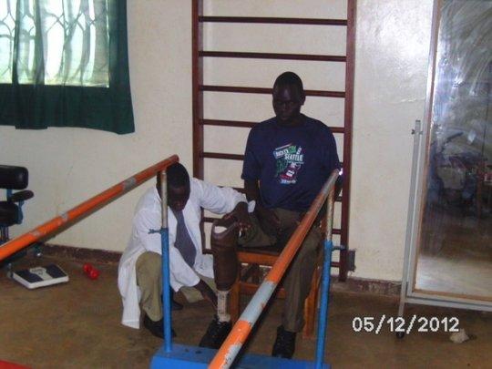 Rehabilitation available at Lire Regional Hospital