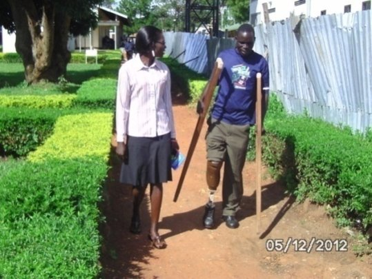Mine and UXO victims receive full treatment