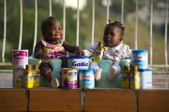 Provide Formula to Orphan Babies in Haiti