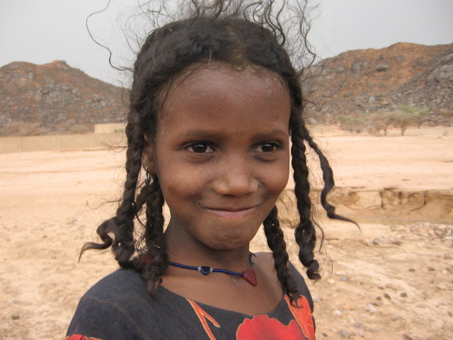 Another drought is sweeping the Sahel, and a resulting food crisis. This young Tuareg girl in Iferouane is from a family of herders who rely on their animals for food and income. RAIN is providing direct livestock aid to nomadic herders to prevent the loss of this keystone to food security.