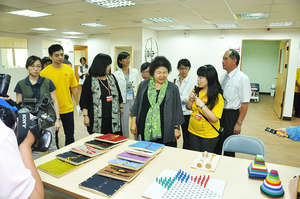 Mayor of Kaohsiung visits new center