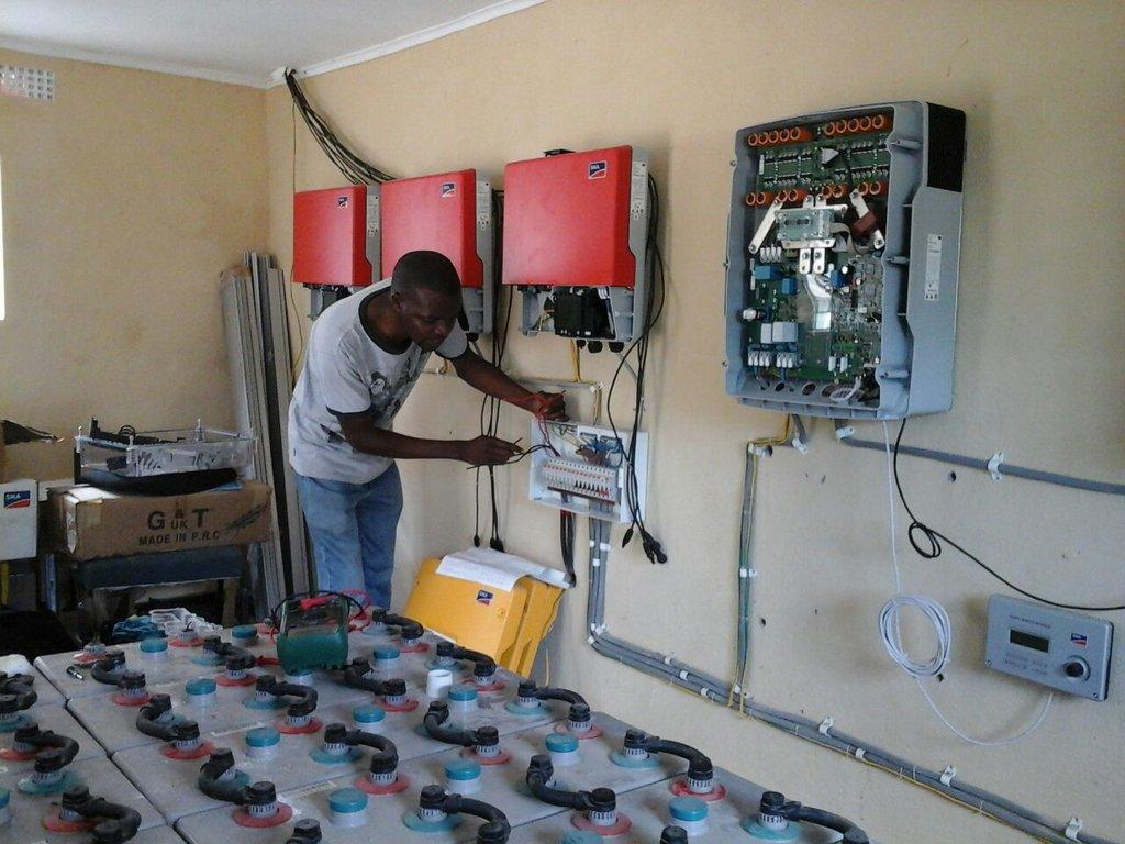 Inside the Solar Power House
