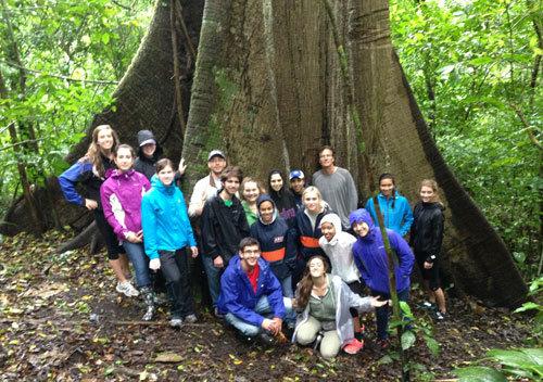 GREEN program students at La Reserva