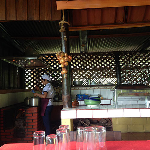 restaurant at Arenal Vida Campesina, Noilen