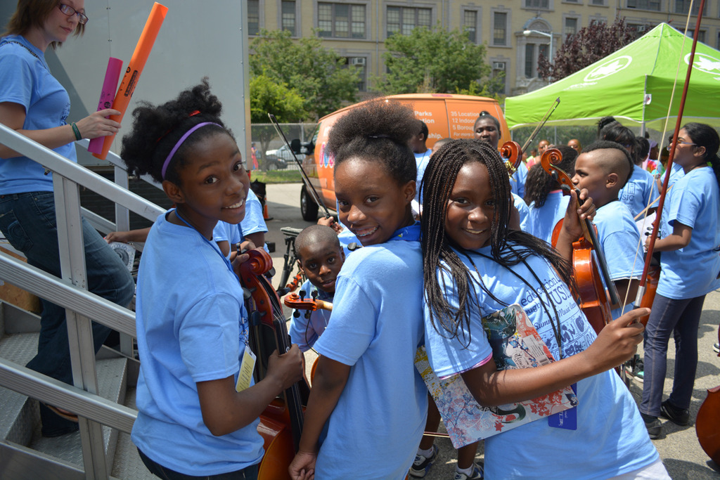 All smiles at the ETM Summer Music Academy