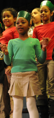 Students add choreography and holiday colors