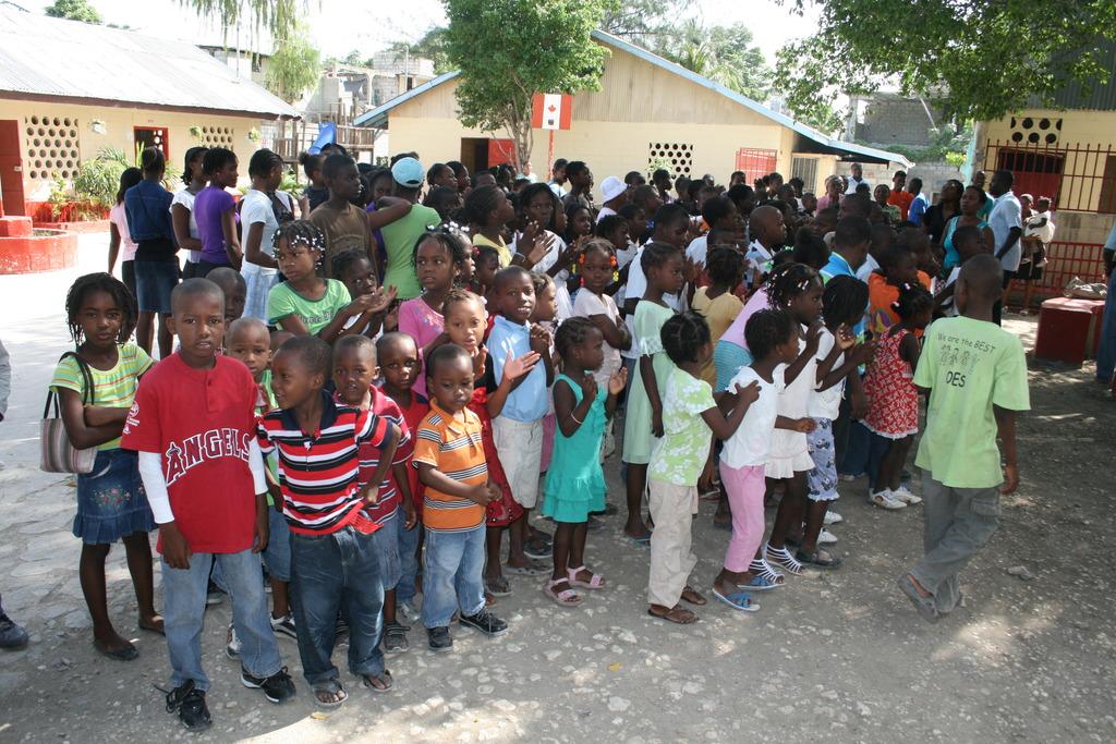 Students at JB School