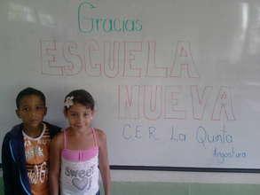 Escuela Nueva students