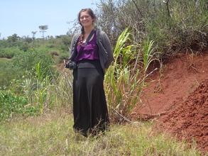 Farley, The Globalgiving representative in Konso