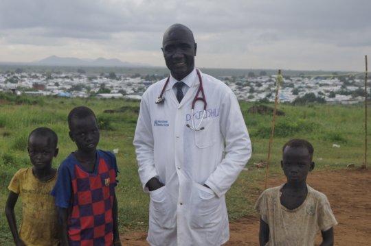International Medical Corps' Dr. Joshua