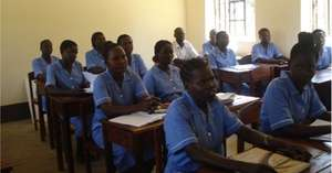 Classroom session at Kajo Keji, South Sudan