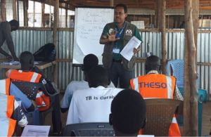 Cholera prevention training