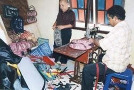 Sewed efforts in Banda Aceh