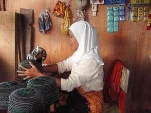 Sewed efforts in Bakoy refugee barack