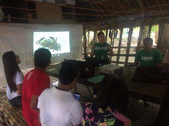 Orientation Training on Mud Crab Fattening