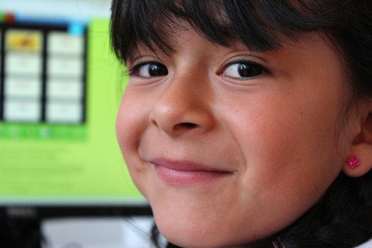 Girl from RIA center in Huixquilucan
