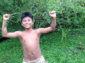 LRFF's young Maleku friend, son of shaman Majima