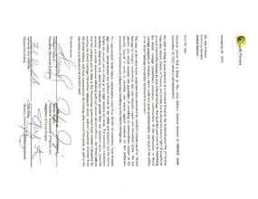 Letter to UN Sec General Ban Ki Moon (PDF)