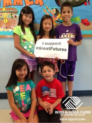 Thanks for supporting kids' great futures!