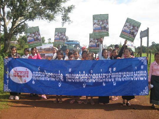Education campaign in Mondulkiri
