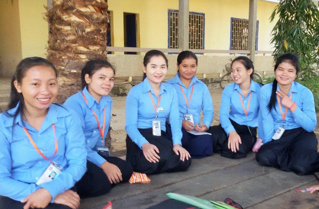 Group photo of PEI graduate scholars