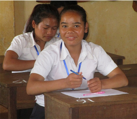 Staying in school has made Kvet gain confidence!