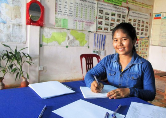 Mei, another recent graduate who is now a teacher.
