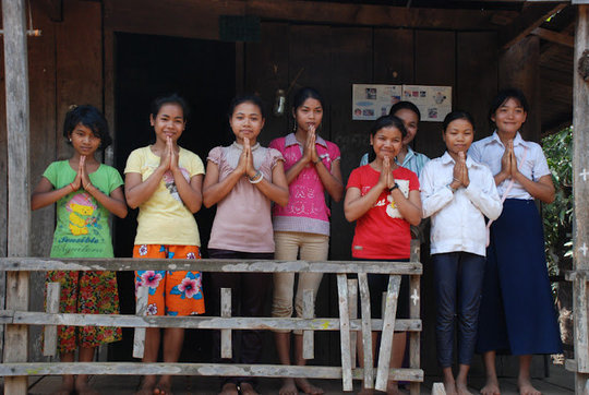 Give Phnong Children the Gift of Education