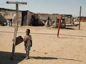 In the DRC settlement community, Namibia
