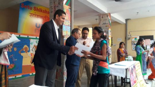 Certification Ceremony for Basic IT Skill Students