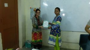 Certification Ceremony Women Empowerment Program