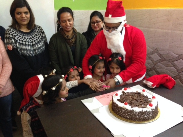 Xmas Celebrations for Specially-abled students