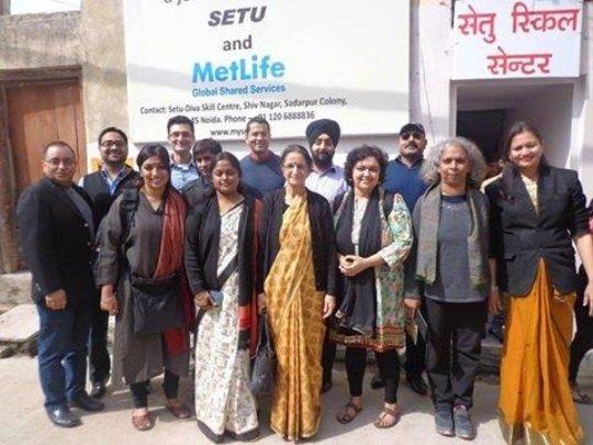 The new Setu Women Empowerment Skill Centre