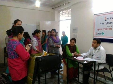 Health Camp for SWEEP students