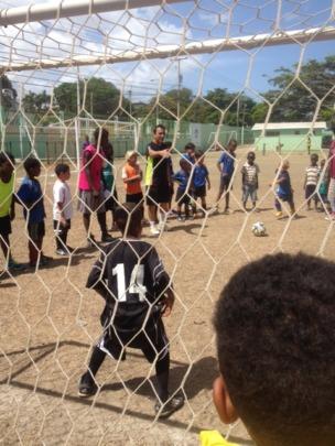 Superstar Soccer Team for Haitian Street Kids