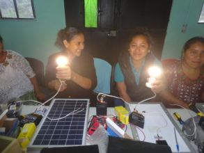 Delia and Analy in Circuits and Solar class