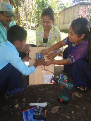 Solar Installation at Nueva Amanecer public school