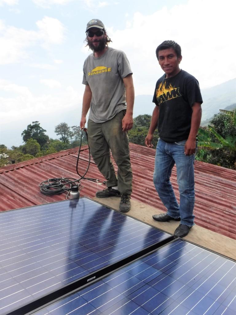 Local and International Solar Volunteers