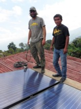 Local and International Solar Volunteers