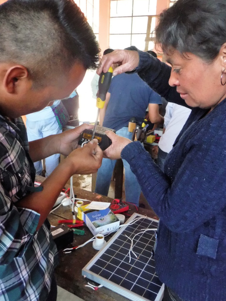 Teachers learn Circuits and Solar