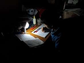 Homework by Solar Light