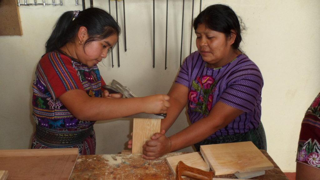 Learning Carpentry Skills