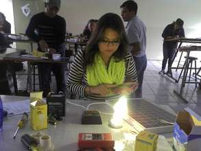 University-level Solar Class in Xela, Guatemala
