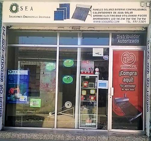 The SEA Storefront in Quetzaltenango