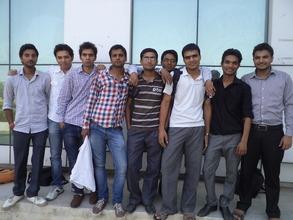 Puneet Tomar- College campus